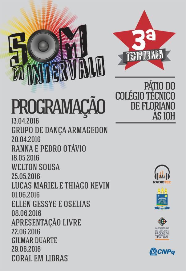 CARTAZ SOM DO INTERVALO 2