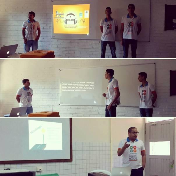 Apresentação dos trabalhos sobre os Projetos Radiotec e Polêmicas em Debate.