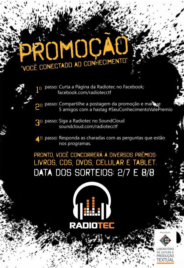 Cartaz Radiotec Promoção - Versão Final