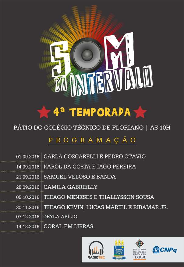 CARTAZ SOM DO INTERVALO 4