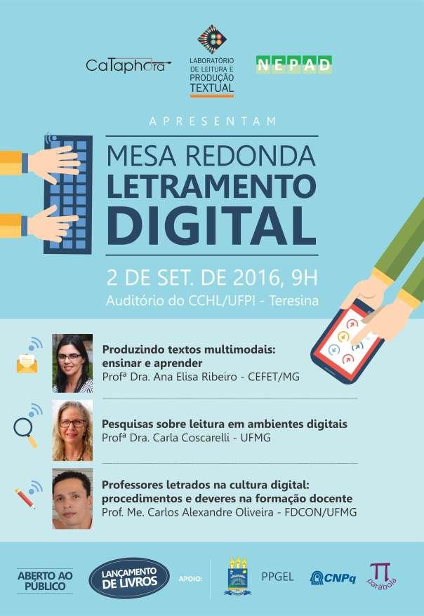 Mesa Redonda - Letramento Digital